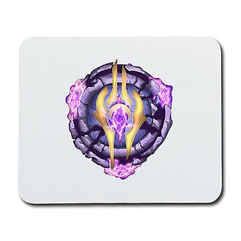 World of Warcraft Draenei Crest Mouse Pad