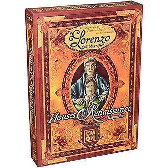 Lorenzo il Magnifico huizen van Renaissance uitbreidingspakket voor bordspel