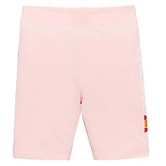 Ellesse Heritage Suzina Kids Girls Fitness Fashion Cycle Short Light Pink