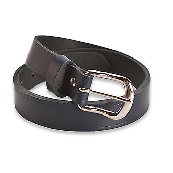 Hawkdale Womens Leather Belt - 1 Inch Skinny - Made In The UK # 803-400