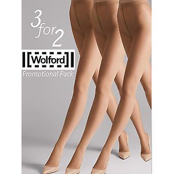 Wolford 3 for 2 Sheer 15 Tights