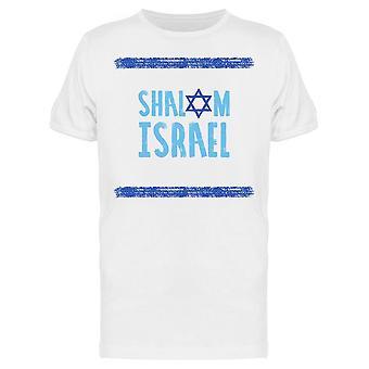 Shalom Israel Tee Men's -Imagem por Shutterstock