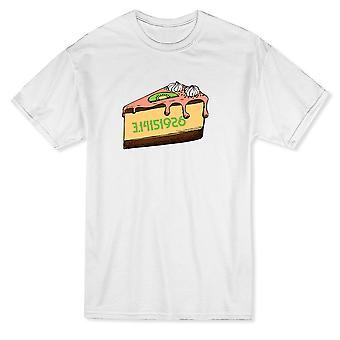 Пи пирог математике графический Мужская футболка