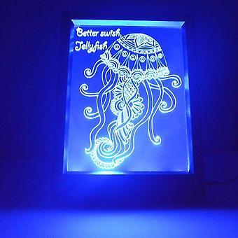 Meduusoja ja lainaus värinvaihto RC LED valo ovenkahva