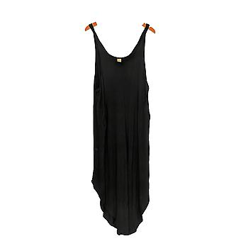 A walk in the park Jumpsuits Rayon Sleeveless Black