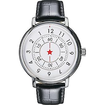 CCCP - Wristwatch - Herrren - ALEKSANDOROV - CP-7042-04 - White / Black