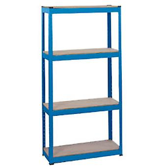 Draper 21658 Steel Shelving Unit - Four Shelves (L760 x W300 x H1520mm)