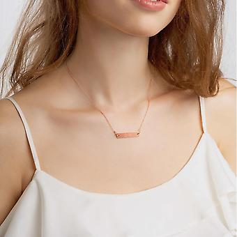 925 Strieborný bar náhrdelník | Rozdrviť na vás