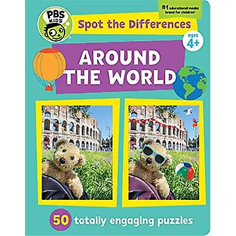 Spot The Differences - Around The World - 50 Totally Engaging Puzzles b