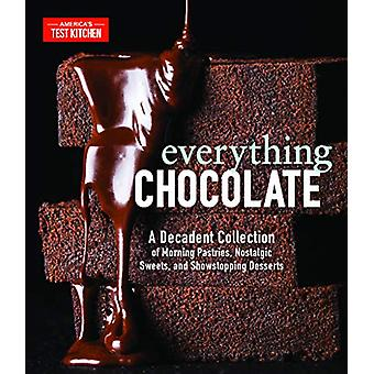Everything Chocolate - A Decadent Collection of Morning Pastries - Nos