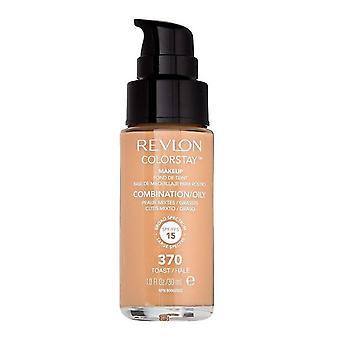 Revlon Colorstay Make-up Kombination/Ölige Haut - 370 Toast 30ml