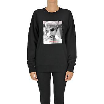 Département Cinq Ezgl534004 Femmes-apos;s Sweatshirt en coton noir