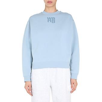 Alexander Wang.t 4cc1201157451 Damen's hellblau Baumwolle Sweatshirt
