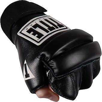 Title Boxing Leather Wristwrap 2.0 Speed Bag Gloves - Black