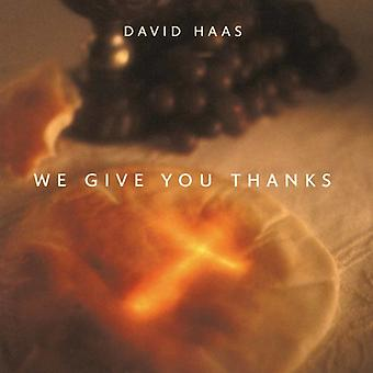 David Haas - We Give You Thanks [CD] USA import