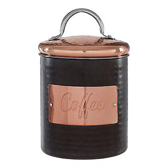 Prescott Hammered Coffee Canister