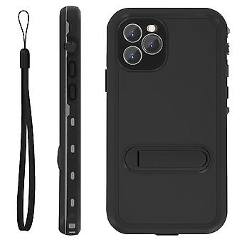 Protective Case iPhone 11 Pro Max Waterproof 2m with video support Black