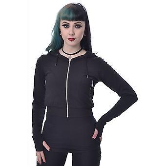 Chemical Black Black Sky Gothic Hoodie