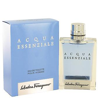 Acqua Essenziale Eau De Toilette Spray By Salvatore Ferragamo 3.4 oz Eau De Toilette Spray