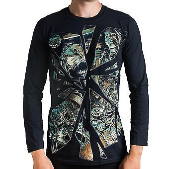 Darkside - horror mirror - longsleeve t-shirt