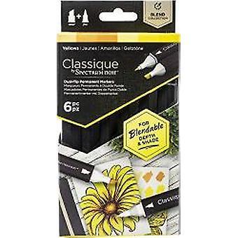 Spectrum Noir Classique Yellows (6pcs) (SPECN-CS6-YEL)
