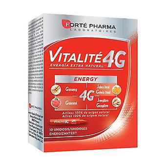 Energy Vitalité 4G 10 vials