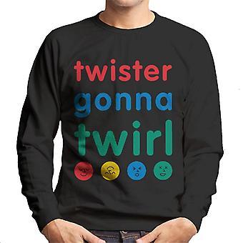 Twister menossa pyörittää miehet'