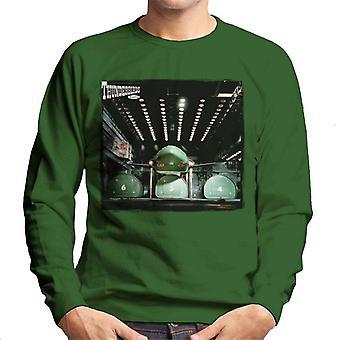 Thunderbirds 2 Hangar Bay Uomini's Sweatshirt
