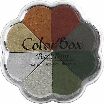 Clearsnap ColorBox Pigment Metalliskt Kronblad Punkt Alkemi