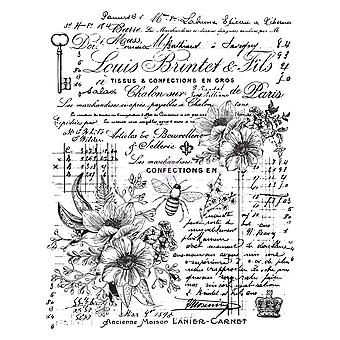 Re-Design with Prima Lovely Ledger 24x31 Inch Decor Transfers