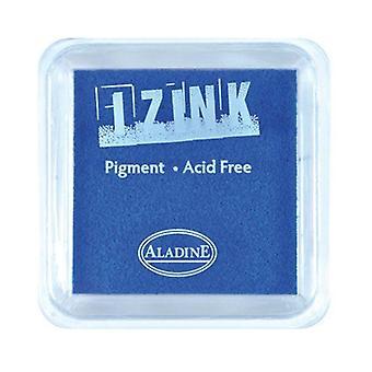 Aladine Large Inkpad Izink Pigment azul marino