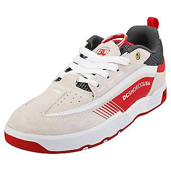 DC Shoes Legacy 98 Slim Sp Mens Skate Trainers in White Red Grey