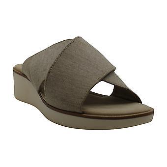 ED Ellen DeGeneres Women's Shoes Svetlana Fabric Open Toe Casual Slide Sandals