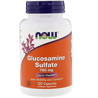 Now Foods, Glucosamine Sulfate, 750 mg, 120 Capsules