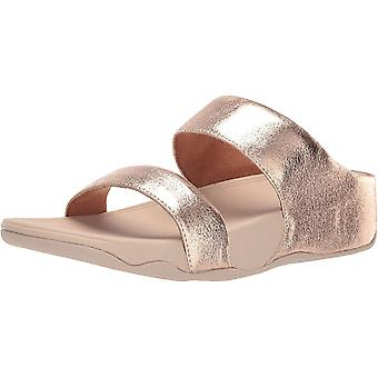 FitFlop Femmes-apos;s Chaussures LULU Glitzy Slide Open Toe Casual Mule Sandales