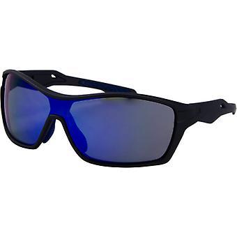 Sunglasses Unisex Sport Kat. 3 dark grey/blue (9155-C)