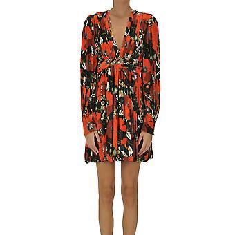 Dodo Bar Ezgl469008 Women's Multicolor Viscose Dress
