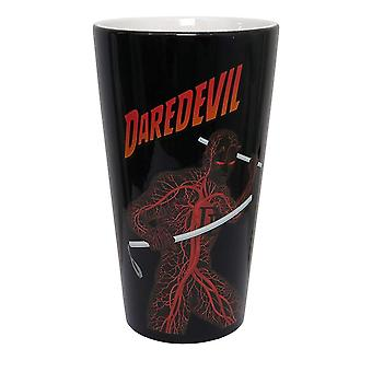 Pint Glass - Daredevil - The Man Without Fear 16oz New gcm-mk-ddbld