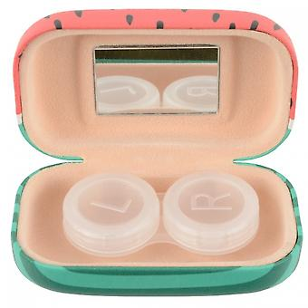 Lens box Women's 8 x 4.5 cm watermelon