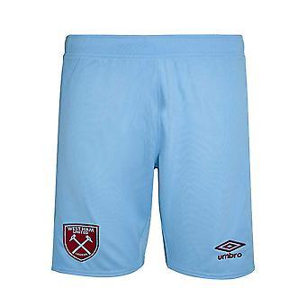 Pantaloni scurți de fotbal West Ham Away 2020-2021 (Copii)