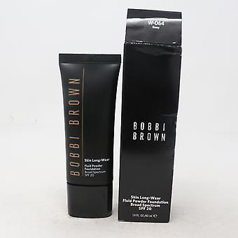 Bobbi Brown Skin Long-Wear Fluid Powder Foundation Spf 20  1.4oz/40ml New