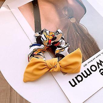 Fashion Disney Chiffon Bow Rope - Hair Accessories