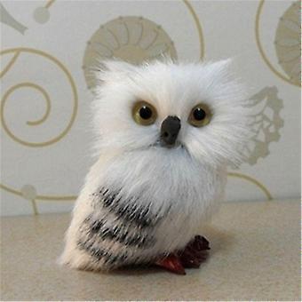 7cm חמוד ינשוף מושלג עיצוב בובה