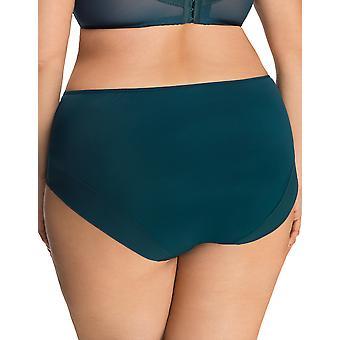 Gorsenia Paradise K497 Women's Green Lace Knickers Panty Full Brief