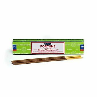 Satya Fortune Incense Sticks (Box Of 12 Packs)