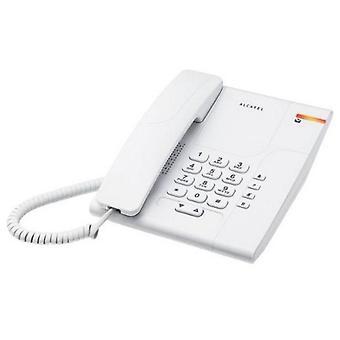 Fastnet telefon Alcatel T180 Versatis Hvid