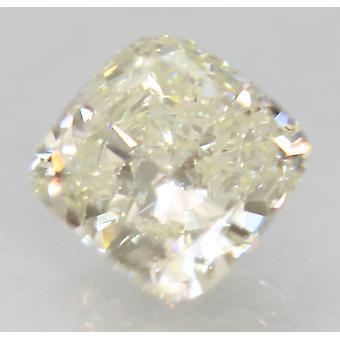 Sertifioitu 1,02 karaatin I VVS2 tyyny parannettu luonnollinen loose diamond 5.95x5.87mm