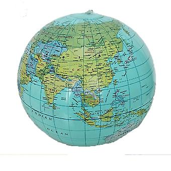 Inflatable World Globe - Teach Education Geography, Toy Map Balloon Beach Ball