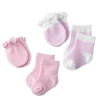 Deti Deti Baby Novorodenec Ponožky Rukavice Anti-scratch Priedušná elasticita