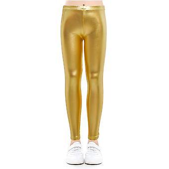 Pantalones de bebé Leggings niños's pantalones de lápiz / pantalones- falsa pu cuero Legging